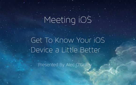 Meeting iOS